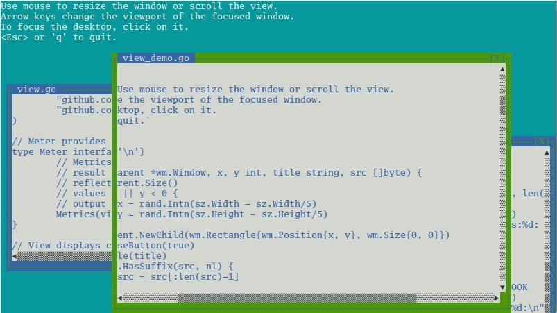 wm screenshot